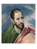 Saint James the Less, c.1595-1600 Giclee Print by  El Greco