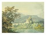 Sir William Hamilton's Villa, C.1795 (W/C over Pencil on Paper) Giclee Print by Joseph Mallord William Turner
