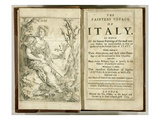 Titlepage from 'The Painter's Voyage of Italy...' by Giacomo Barri, 1679 (Engraving) Giclee Print by William Lodge