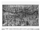 Life of Christ, Last Judgement, Preparatory Study of Tapestry Cartoon Giclee Print by Henri Lerambert