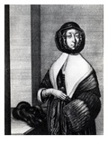 Winter, 1641 (Etching) Giclee Print by Wenceslaus Hollar
