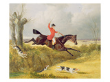 Clearing a Ditch, 1839 (Oil on Panel) Giclee Print by John Frederick Herring Snr