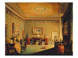 Salon in the Barbierrini House, 1830-40S Giclee Print by Francesco Diofebi