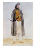 Turkish Man (Lithograph) Giclee Print by John White