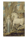 The Horse, from 'William Hayley's Ballads', C.1805-06 Premium Giclee Print by William Blake