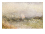Off the Nore: Wind and Water, 1840-5 (Oil on Paper Laid Down on Canvas) Giclee Print by Joseph Mallord William Turner