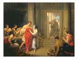 Alcibiades Amongst the Hetaerae Giclee Print by Cosroe Dusi