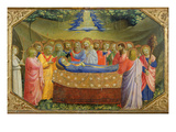 Funeral of the Virgin Mary from the Predella of the Annunciation Altarpiece, C.1430-32 Giclee Print by Fra Angelico