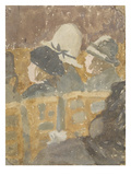 Girls in a Church (Gouache and W/C on Paper) Giclee Print by Gwen John