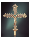 Processional Cross, Ballymacasey, County Kerry, 1479 (Silver-Gilt) Giclee Print by  Irish