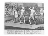 The Bruiser Bruis'D, Or, the Knowing-Ones Taken-In, 1750 (Engraving) Premium Giclee Print by  English