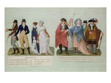 Fashion of the Year 9 (W/C and Gouache on Card) Giclee Print by P. A. Lesueur
