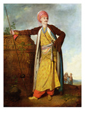 Portrait of an Armenian, 1771 (Oil on Canvas) Giclee Print by Richard Cosway