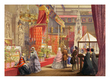 Medieval Court, Plate 40 Premium Giclee Print by  English