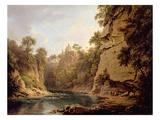 Hawthornden Castle, Near Edinburgh, c.1820-22 Giclee Print by Alexander Nasmyth
