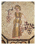The Grape Seller (Mosaic) Giclee Print by  Roman