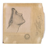 Study for 'Lamia', C.1904-05 (Pencil on Paper) Giclee Print by John William Waterhouse