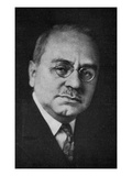 Alfred Adler (B/W Photo) Giclee Print by  Austrian Photographer