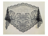 Shawl, Puy Workshop, C.1850 (Lace) Giclee Print by  Falcon
