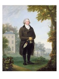 Gentleman in the Grounds of His House, c.1800-10 Giclee Print by Samuel de Wilde
