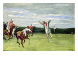 Polo Player in Jenischpark, Hamburg, 1903 (Oil on Canvas) Reproduction procédé giclée par Max Liebermann