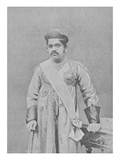 Maharaja Sayajirao Gaekwad Iii, C.1919 (Engraving) Giclee Print by  English Photographer