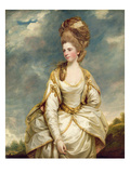 Miss Sarah Campbell, 1777-78 (Oil on Canvas) Giclee Print by Sir Joshua Reynolds