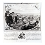 Early Settlement of Venice (Engraving) (Also See 316845) Giclee Print by  Italian