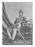 Maharaja Jashwant Singh of Bharatpur (Engraving) Giclee Print by  English Photographer