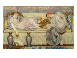 Beads (Study), C.1875 (Oil on Canvas) Giclee Print by Albert Joseph Moore