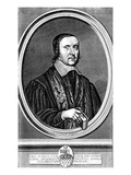 Jeremy Taylor, C.1660 (Engraving) Giclee Print by Pierre Lombard Or Lombart