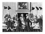 Tasting, 1782 (Engraving) Giclee Print by John Nixon