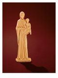 Virgin and Child (Ivory) Giclee Print by  Byzantine