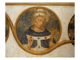 Pope Benedict Xi (Fresco) Giclee Print by  Fra Angelico