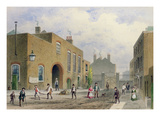 St. Thomas's Hospital, Southwark, London (W/C on Paper) Giclee Print by Thomas Hosmer Shepherd
