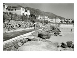 Fish Hoek, Cape, C.1940S-50S (B/W Photo) Giclee Print by  South African Photographer