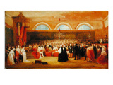 The Passing of the Great Emancipation Act, C.1829 (Oil on Panel) Giclee Print by George Jones