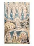 The Creation, Page 14 from 'Illustrations of the Book of Job' after William Blake (1757-1827) Giclee Print by John Linnell