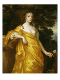Diana Kirke, Later Countess of Oxford, C.1665-70 (Oil on Canvas) Reproduction proc&#233;d&#233; gicl&#233;e par Sir Peter Lely