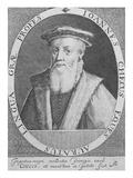 John Cheke, 1620 (Engraving) Giclee Print by Magdalena de Passe