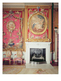 View of the Fire Place Designed by Adam in the Tapestry Room (Photo) Giclee Print by Robert Adam