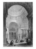 Interior of the Kazan Church, Engraved by T. Higham (Engraving) Giclee Print by Alfred Gomersal Vickers
