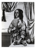 Summer, 1641 (Etching) Giclee Print by Wenceslaus Hollar
