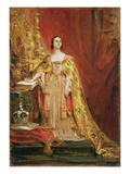 Queen Victoria (1819-1901) Taking the Coronation Oath, 28th June 1838 (Oil on Panel) Giclee Print by Sir George Hayter