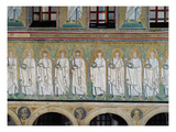 Group of Saints and Martyrs (Mosaic) Giclee Print by  Byzantine