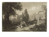 Bryon's Dream, Engraved by James T. Willmore (1800-63) 1833 (B/W Litho) Giclee Print by Sir Charles Lock Eastlake