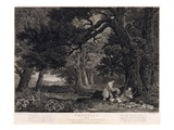 Shooting, Plate 4, Engraved by William Woollett (1735-85) 1771 (Engraving with Etching) Giclee Print by George Stubbs