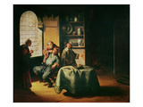 The Operation (Oil on Panel) Giclee Print by Gerrit or Gerard Dou