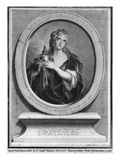 Adrienne Lecouvreur (1692-1730) Engraved by Pierre Drevet (Engraving) Giclee Print by Charles Antoine Coypel
