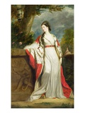 Elizabeth Gunning, Duchess of Hamilton and Duchess of Argyll, c.1760 Giclee-trykk av Sir Joshua Reynolds